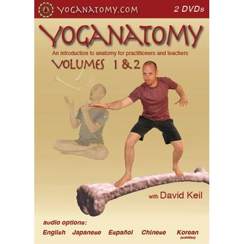 David Keil Yoganatomy 2 DVD - Volume 1 & 2