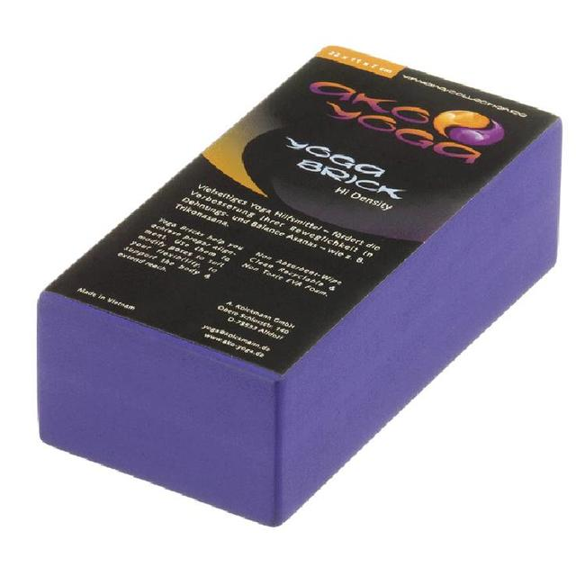 Foam Yoga Brick - Purple