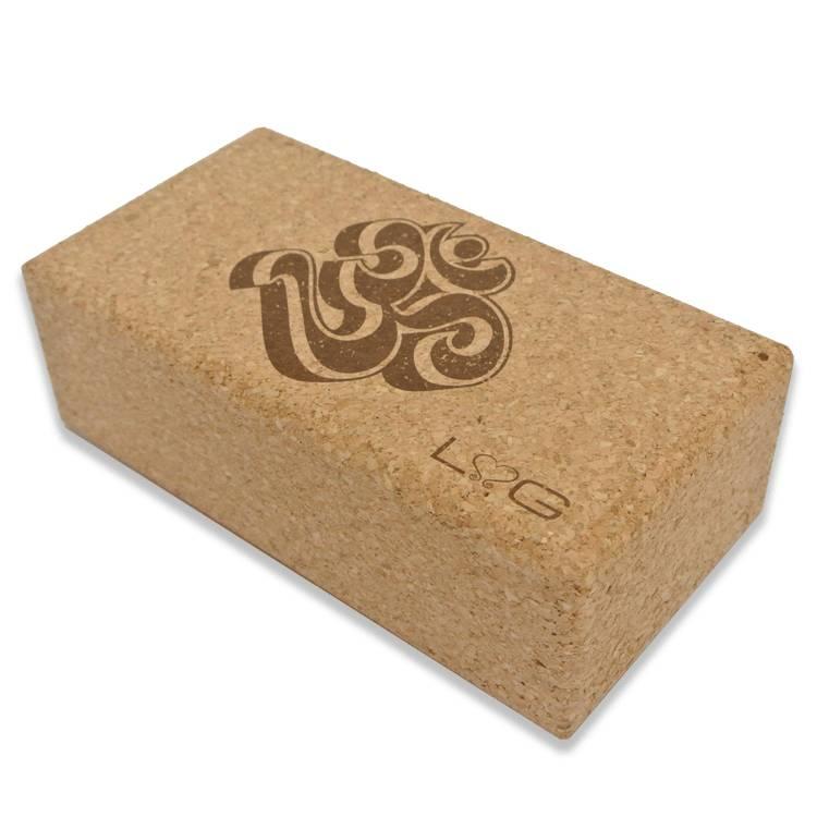 Love Generation Cork Yoga Brick Ohm