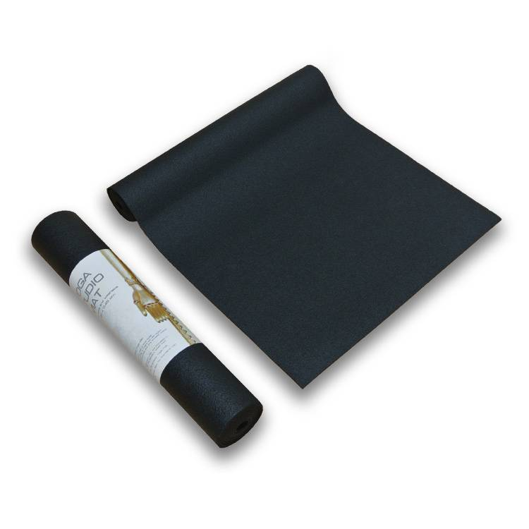 Love Generation Yoga Studio Yoga Mat - 4.5mm - Black - Extra Long