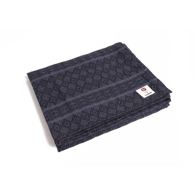 Manduka Cotton Yoga Blanket - Thunder - Grey