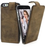 Bouletta Bouletta - iPhone 6(S) FlipCase (Antic Coffee)