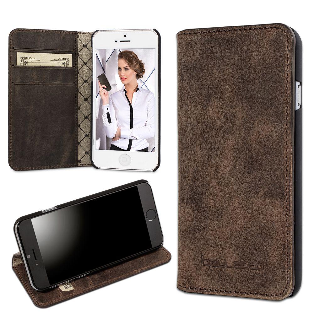 Bouletta Bouletta - iPhone 6(S) BookCase (Antic Brown)