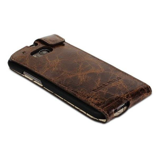 Bouletta Bouletta - HTC One Mini 2 FlipCase (Vessel Brown)