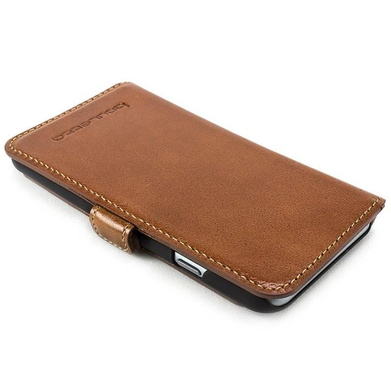 Bouletta Bouletta - iPhone 6(S) Plus WalletCase (Rustic Cognac)