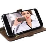 Bouletta Bouletta - iPhone 6(S) Plus WalletCase (Antic Coffee)