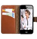 Bouletta Bouletta - iPhone 5(S) & SE WalletCase (Burned Cognac)