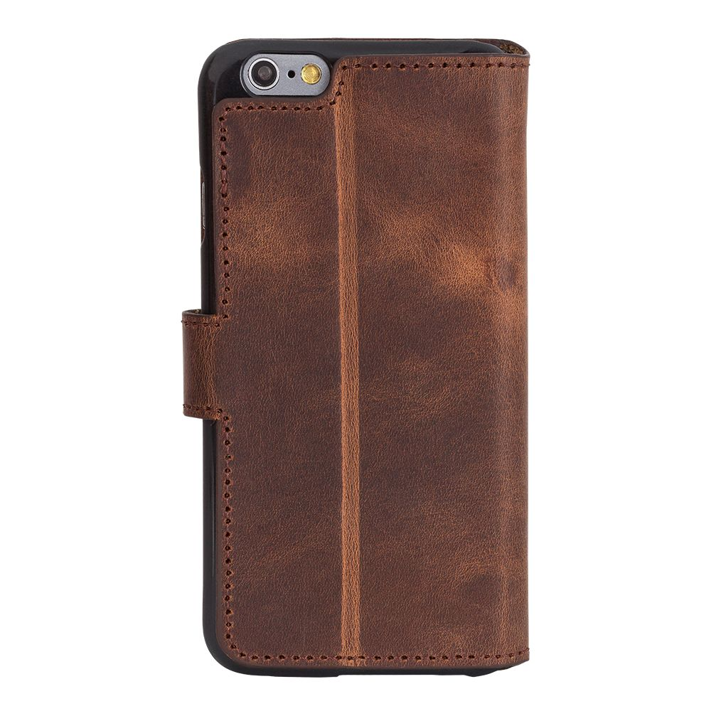 Bouletta Bouletta - Apple iPhone 7 WalletCase (Antic Coffee)