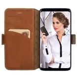 Bouletta Bouletta - Samsung Galaxy S8 BookCase (Burned Cognac)
