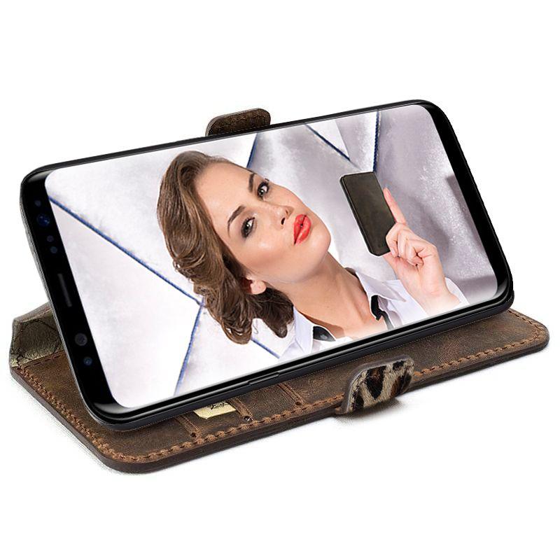 Bouletta Bouletta - Samsung Galaxy S8 WalletCase (Leopard)