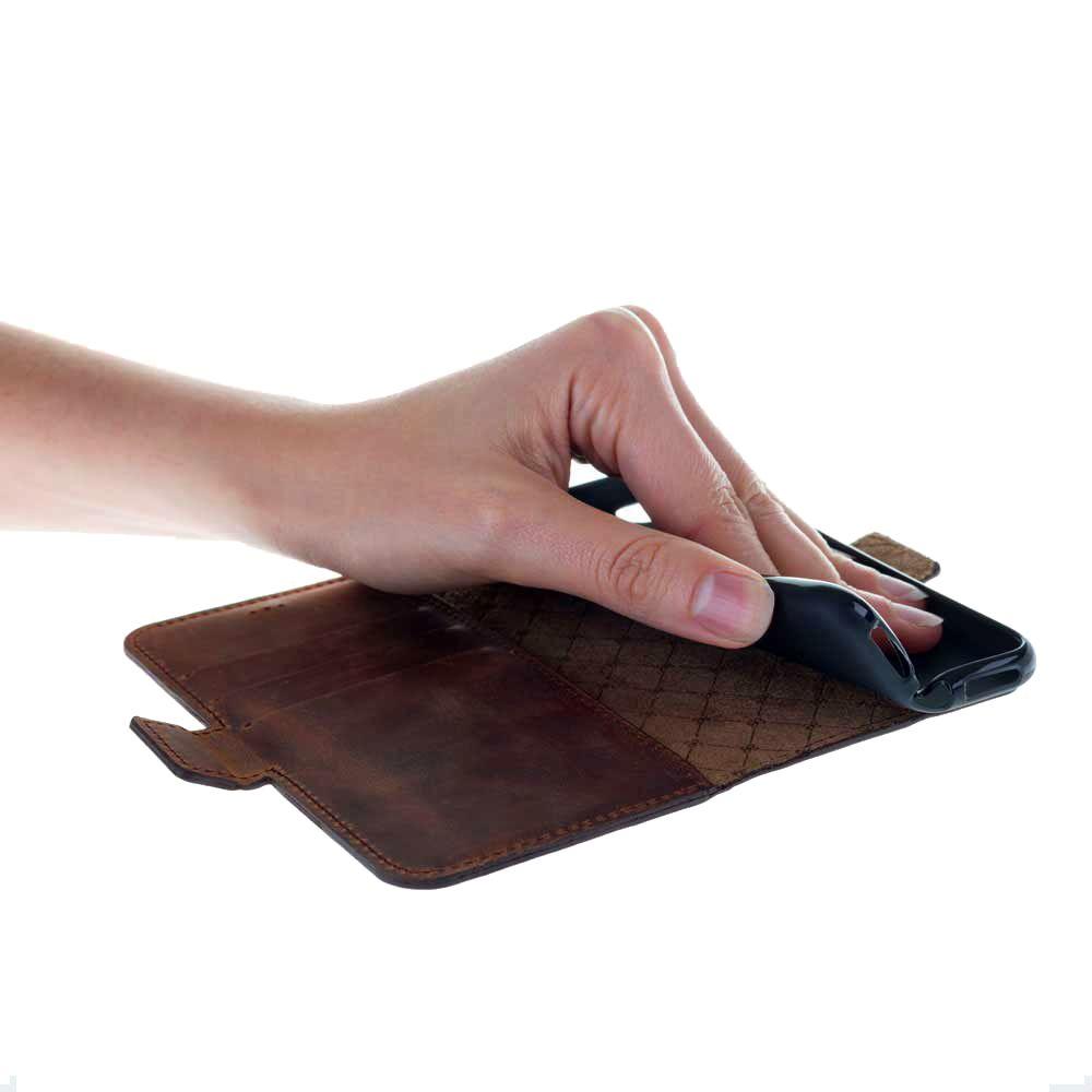 Bouletta - Samsung Galaxy S5 WalletCase (Antic Coffee)