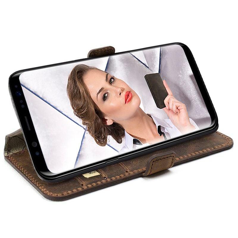 Bouletta Bouletta - Samsung Galaxy S8 Plus WalletCase (Antic Coffee)