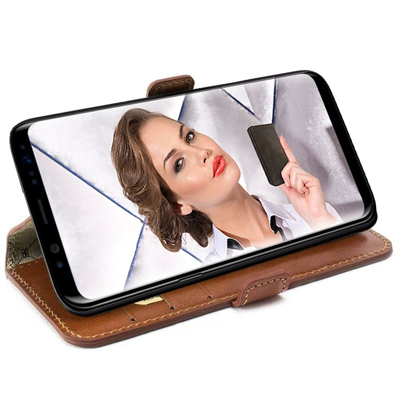 Bouletta Bouletta - Samsung Galaxy S8 Plus BookCase (Burned Cognac)