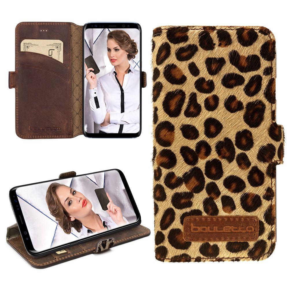 Bouletta Bouletta - Samsung Galaxy S8 Plus WalletCase (Leopard)