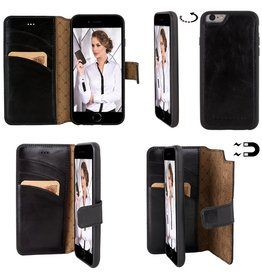 Bouletta Bouletta - iPhone 6(S) Magnet WalletCase (Rustic Black)