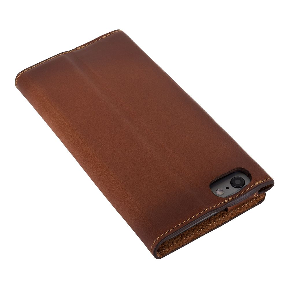 Bouletta Bouletta - iPhone 6(S) HalfWay BookCase (Burned Cognac)