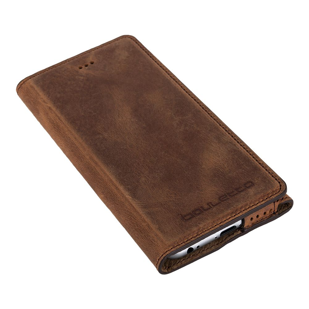 Bouletta Bouletta - iPhone 6(S) HalfWay BookCase (Antic Coffee)