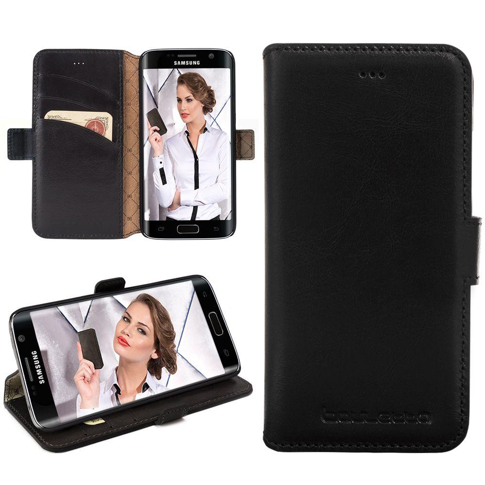 Bouletta Bouletta - Samsung Galaxy S6 Edge WalletCase (Rustic Black)