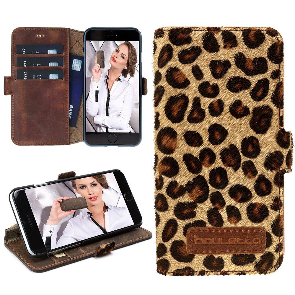 Bouletta Bouletta - iPhone 6(S) WalletCase (Leopard)