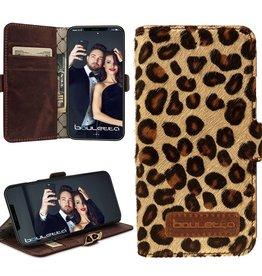 Bouletta Bouletta - iPhone X BookCase (Luipaard)