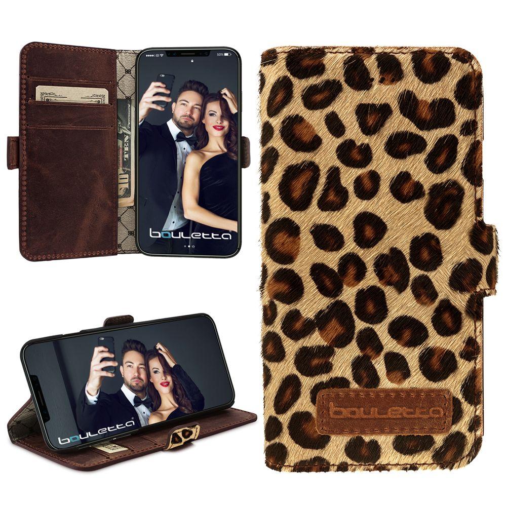 Bouletta Bouletta - iPhone X BookCase (Leopard)
