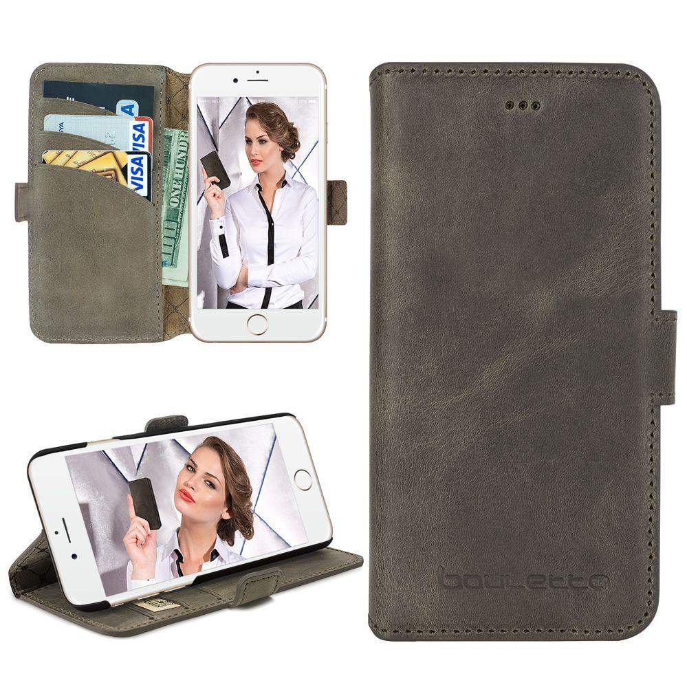 Bouletta Bouletta - iPhone 6(S) WalletCase (Antic Grey)