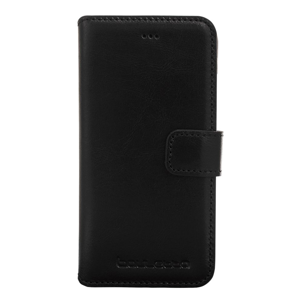 Bouletta iPhone X WalletCase - Rustic Black (Classic)