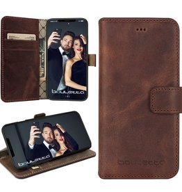 Bouletta iPhone X BookCase - Antic Coffee (Classic)