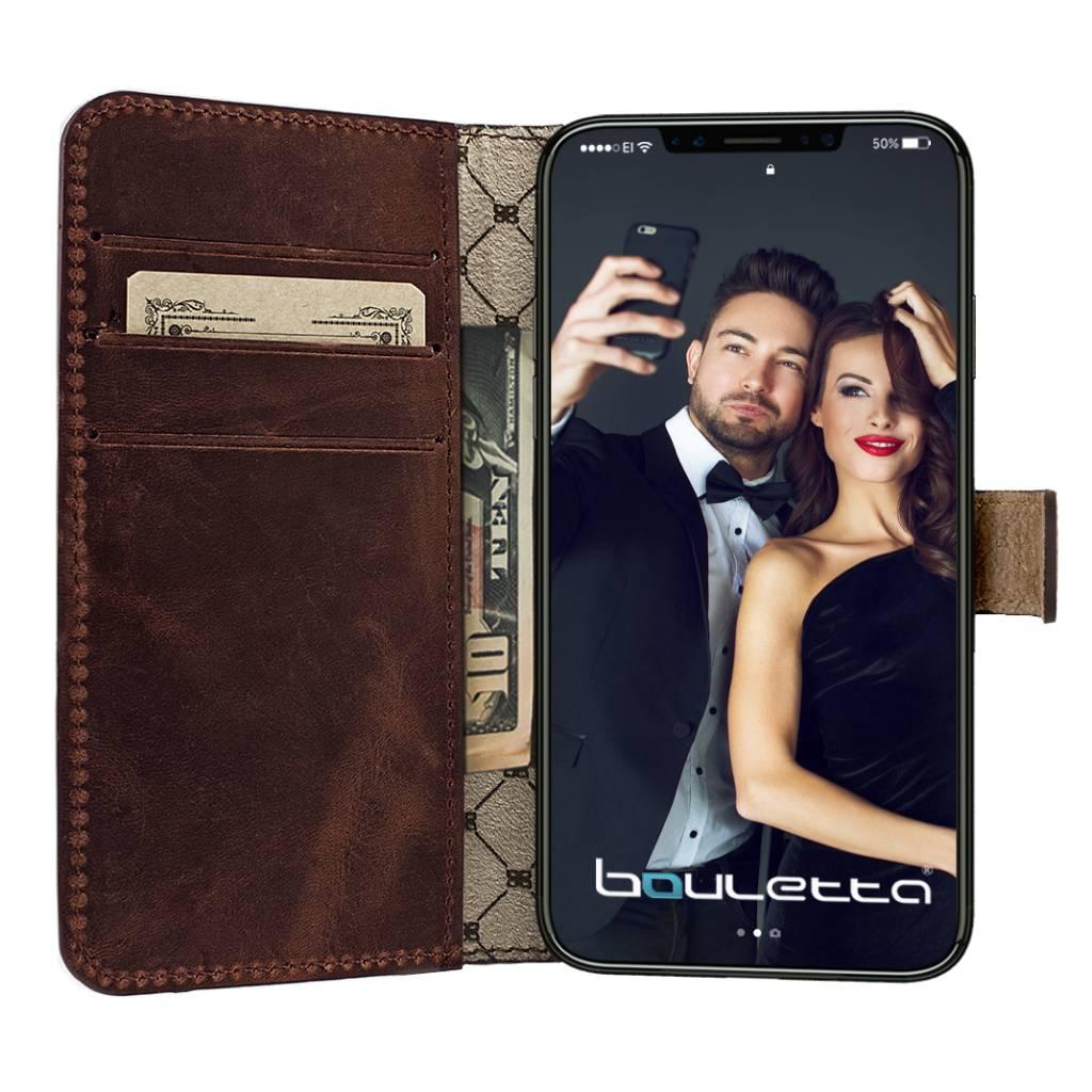 Bouletta iPhone X BookCase - Antic Coffee (Classic)