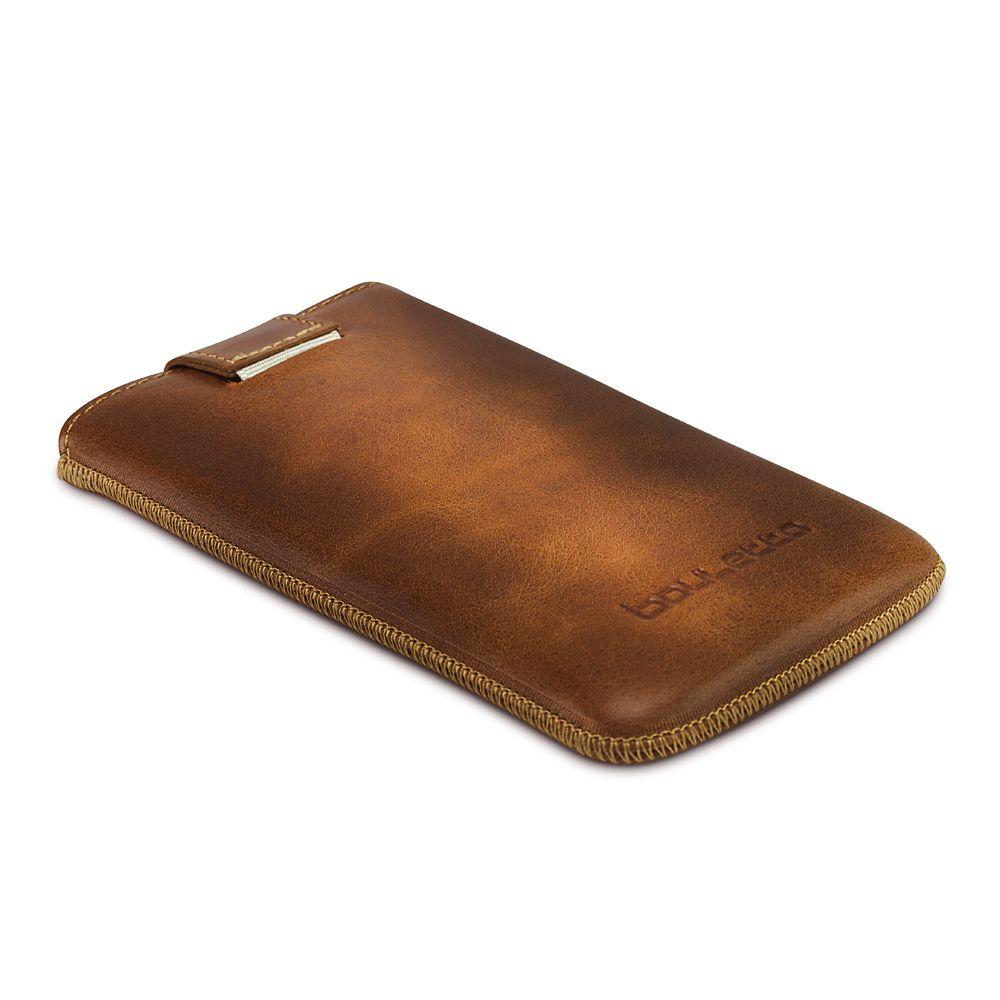 Bouletta Bouletta - Apple iPhone X Insteekhoesje (Burned Cognac)