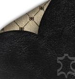 Bouletta Bouletta - iPhone Xs / X Insteekhoesje met vakjes (Rustic Black)