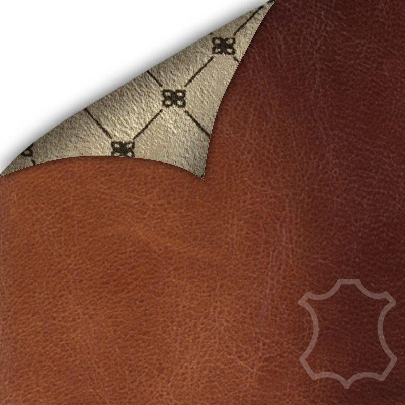 Bouletta Bouletta - iPhone X Insteekhoesje met vakjes (Burned Cognac)