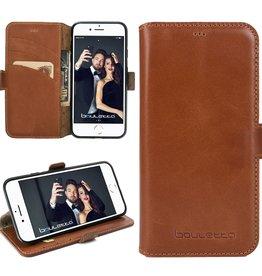 Bouletta Bouletta - iPhone 8 Plus BookCase (Rustic Cognac)