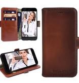 Bouletta Bouletta - iPhone 8 Book Case (Burned Cognac)