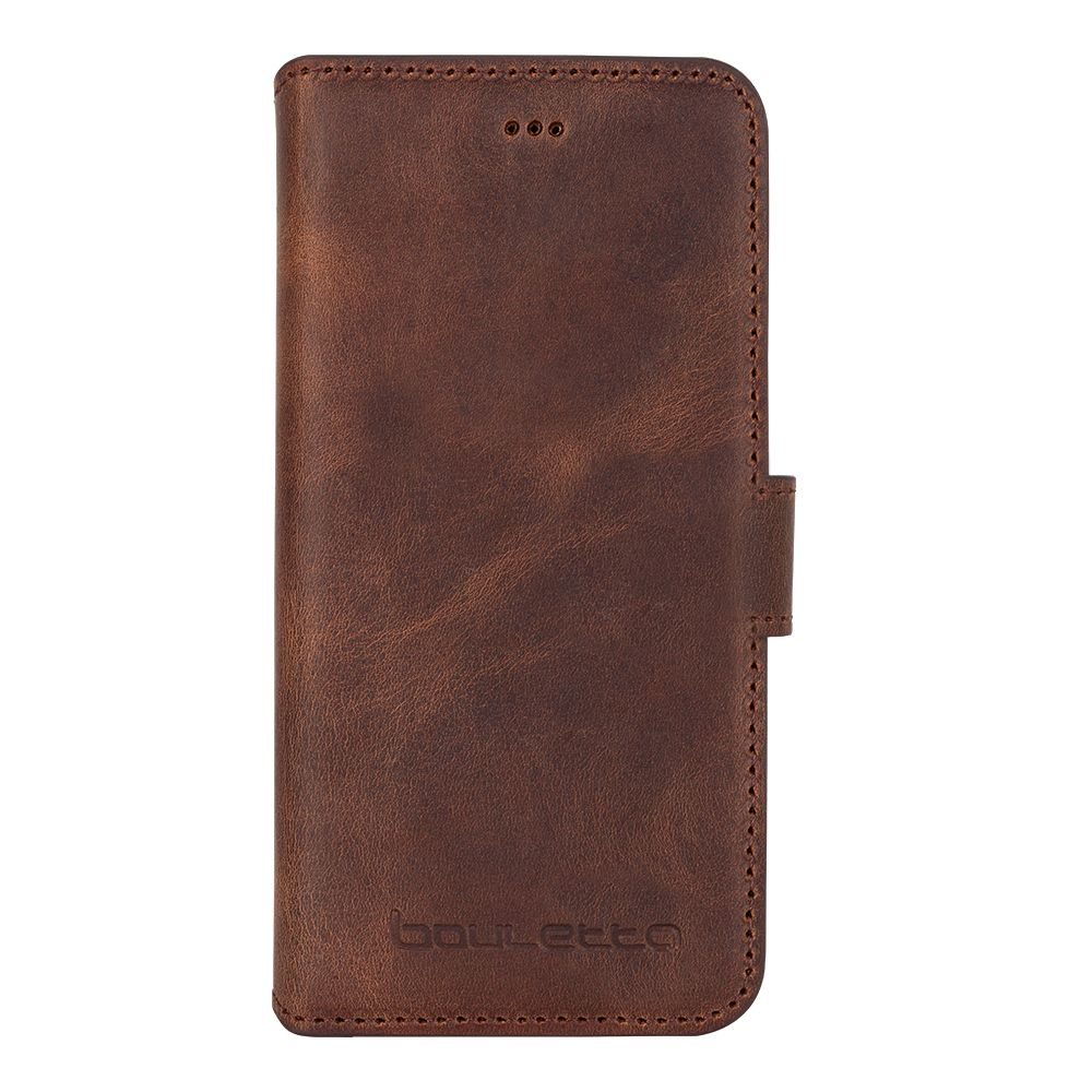 Bouletta Bouletta - iPhone 8 Plus Book Case (Antic Coffee)