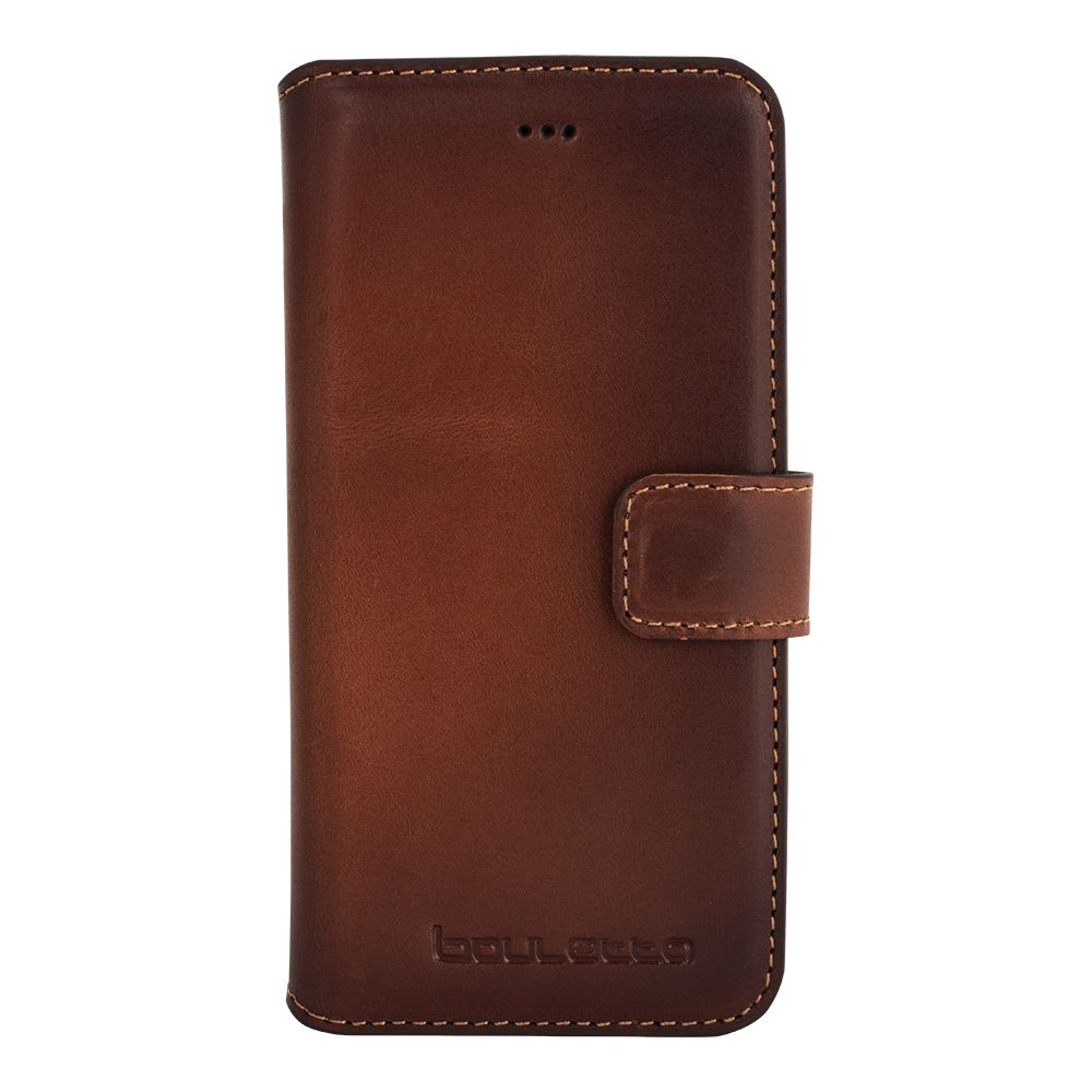 Bouletta Bouletta - Apple iPhone 8 WalletCase (Burned Cognac)