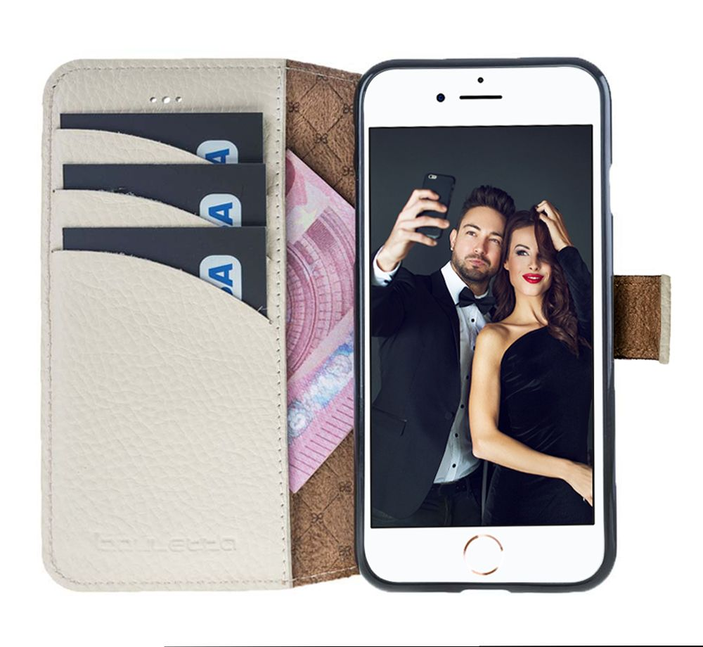 Bouletta Bouletta - iPhone 8 Wallet Case (Royal White)