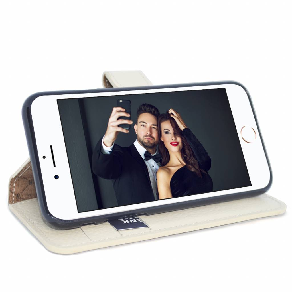 Bouletta Bouletta - iPhone 8 Wallet Case (Royal White)