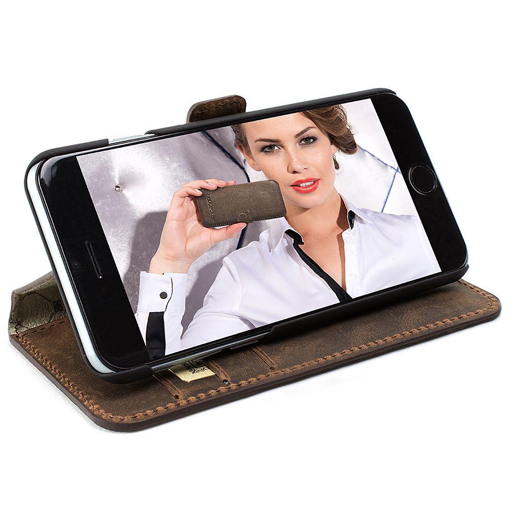 Bouletta Bouletta - Apple iPhone 8 Plus Wallet Case (Antic Coffee)