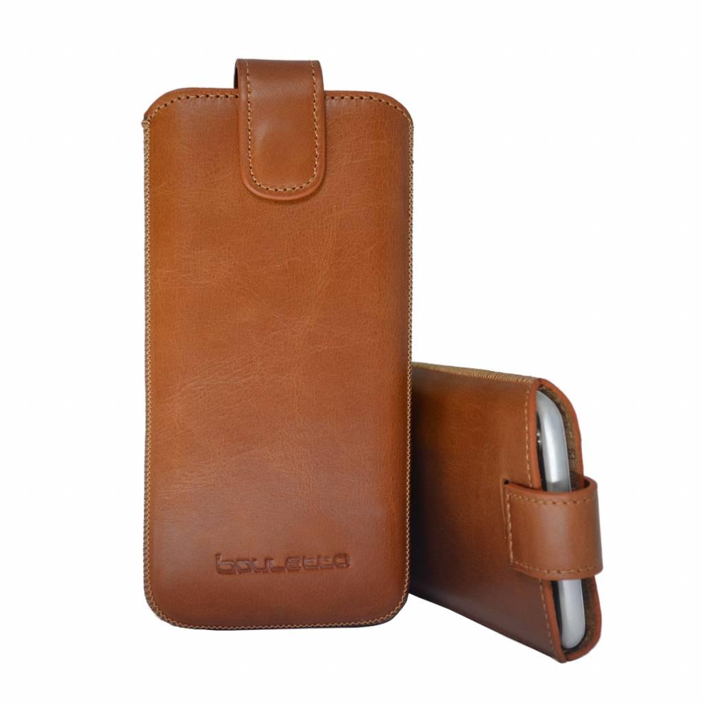 Bouletta Bouletta - iPhone 6(S)/7/8 Plus Insteekhoesje (Rustic Cognac)