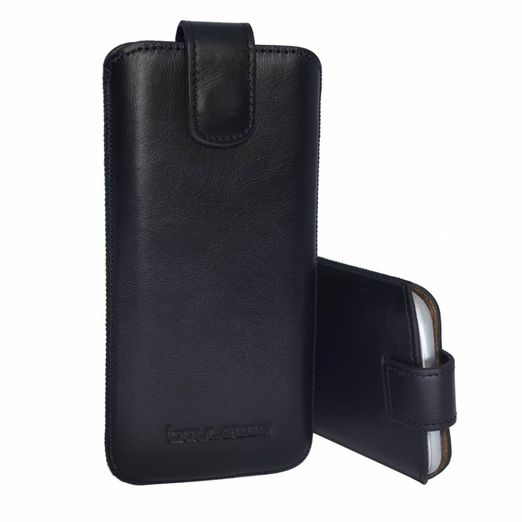 Bouletta Bouletta - iPhone 6(S)/7/8 Insteekhoesje (Rustic Black)