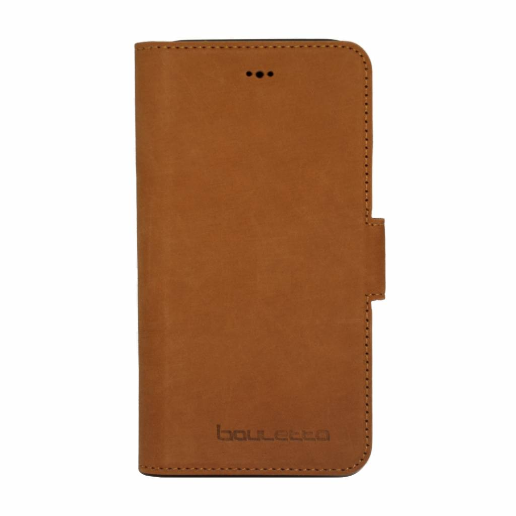 Bouletta Bouletta - iPhone X Book Case (Nubuck Tan)