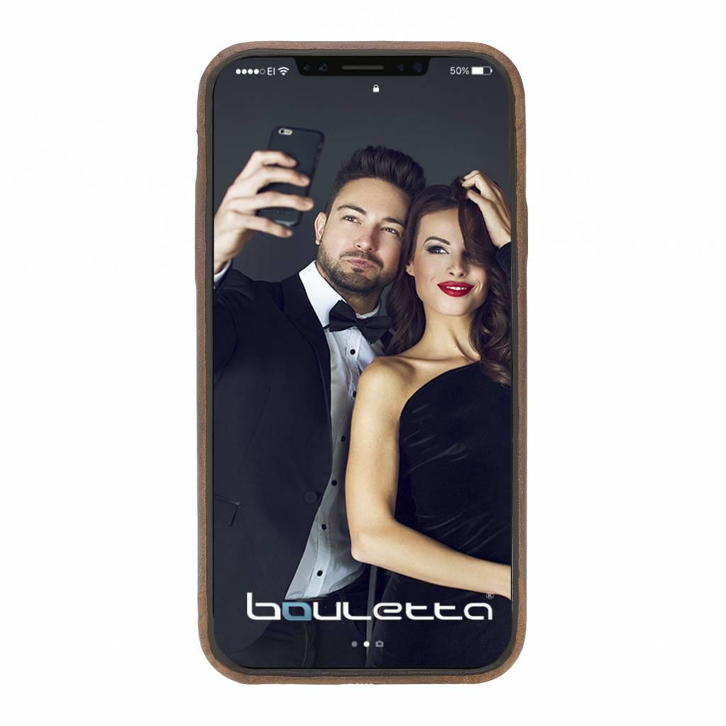 Bouletta Bouletta - iPhone Xs / X BackCover (Antic Coffee)