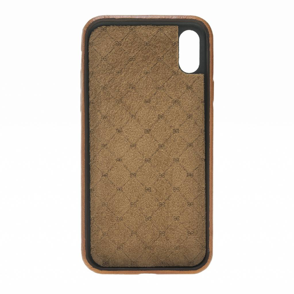 Bouletta Bouletta - iPhone X Elastic BackCover (Burned Cognac)