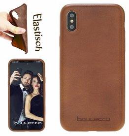 Bouletta Bouletta - iPhone X Ultra BackCover (Rustic Cognac)