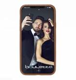 Bouletta Bouletta - iPhone Xs / X BackCover (Rustic Cognac)