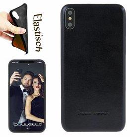 Bouletta Bouletta - iPhone Xs / X BackCover (Rustic Black)