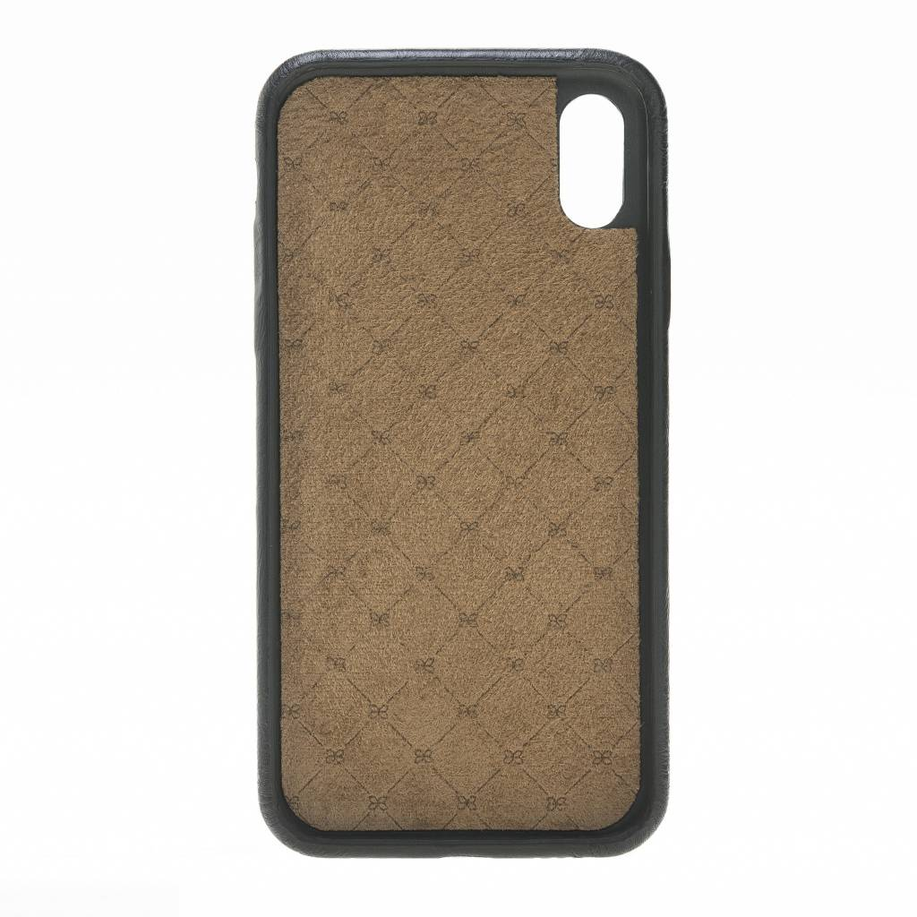 Bouletta Bouletta - iPhone X Elastic BackCover (Rustic Black)