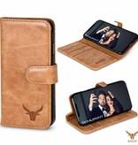 Gazzi Gazzi iPhone Xs / X BookCase 'Retro Cognac'