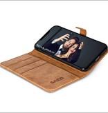 Gazzi Gazzi iPhone X BookCase 'Retro Cognac'